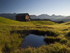 Late Summer in the Grisons Mountains by Armin Mathis