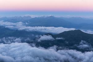 Morning Mood Above the Lenzerheide by Armin Mathis
