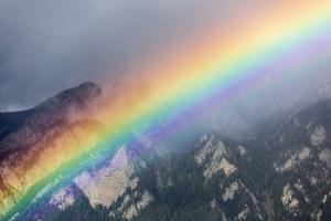 Rainbow in a Summer Storm by Armin Mathis