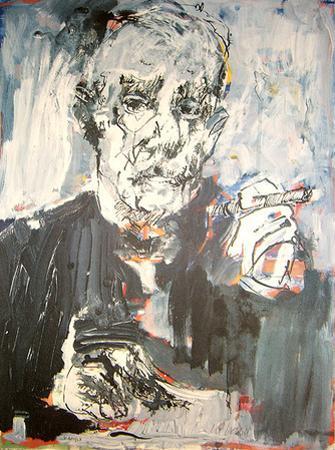 Selbst als Thomas Mann, c.2007