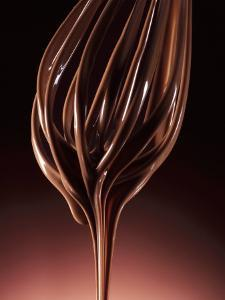 Melted Chocolate Running from a Whisk by Armin Zogbaum