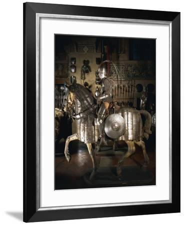Armor in Steel, Chain Mail and Leather for Ottoman-Mamluk Knight and Horse--Framed Giclee Print