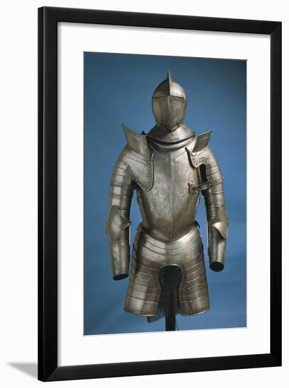 Armor of Man-At-Arms Made in Northern Italy, 1540-1550, Italy--Framed Giclee Print