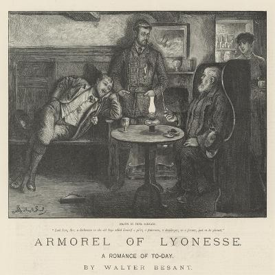 Armorel of Lyonesse, a Romance of To-Day-Frederick Barnard-Giclee Print