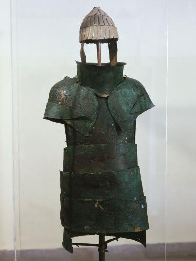 Armour, Bronze, Mycenaean, from Dendra, Greece--Photographic Print