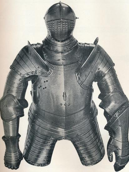 Armour of King Henry VIII (1491-1547), 1917-Unknown-Photographic Print