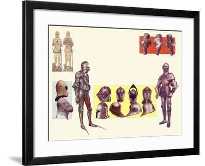 Armour of the 15th Century-Pat Nicolle-Framed Giclee Print