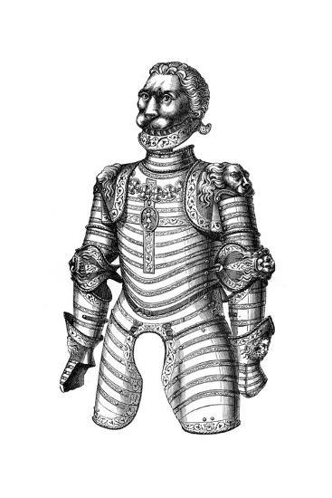 Armour Ornamented with Lions, Supposed to Be That of Of Louis XII, 15th Century--Giclee Print