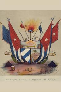 Arms of Cuba. Armas De Cuba