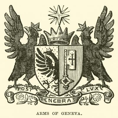 Arms of Geneva--Giclee Print