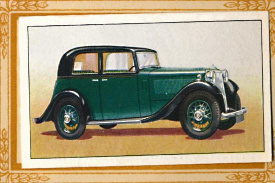 'Armstrong-Siddeley 17 Saloon', c1936-Unknown-Giclee Print