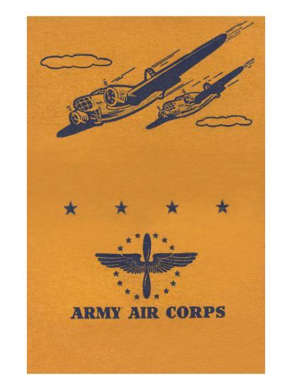 Army Air Corps--Art Print