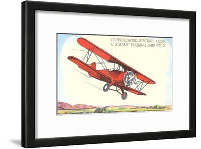 Army Training Biplane PT11C