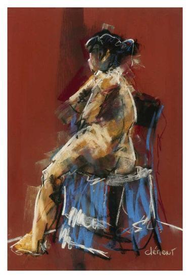 Arnase-Jacques Clement-Art Print