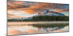 Two Jack Lake at Sunset, Banff National Park, Alberta, Canada by Arnaudbertrande