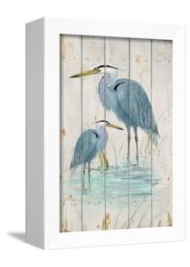 Blue Heron Duo by Arnie Fisk