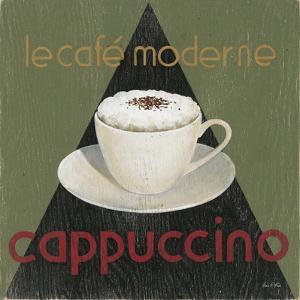 Café Moderne Cappuccino by Arnie Fisk