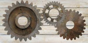 Industrial Chic Elements by Arnie Fisk