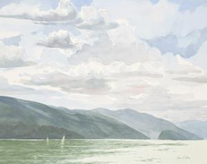 Ocean Sailing 2 by Arnie Fisk