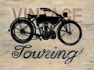 Vintage Touring Bike by Arnie Fisk