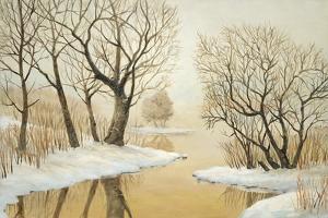 Winter Lake by Arnie Fisk