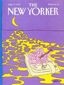 The New Yorker Cover - July 27, 1987 by Arnie Levin