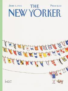 The New Yorker Cover - June 3, 1985 by Arnie Levin