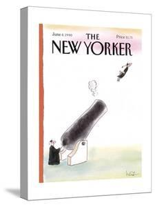 The New Yorker Cover - June 4, 1990 by Arnie Levin