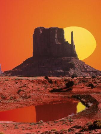 Monument Valley at Sunrise, Arizona