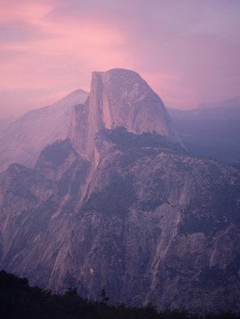 Mountains at Dusk, Yosemite National Park, California