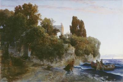 Schloss am Meer (Mord im Schloss). 1859