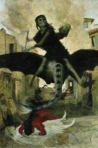 The Plague, 1898 by Arnold B?cklin