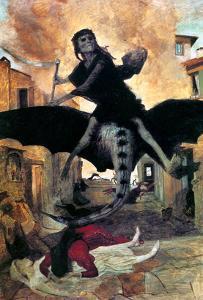 Bocklin: The Plague, 1898 by Arnold Bocklin