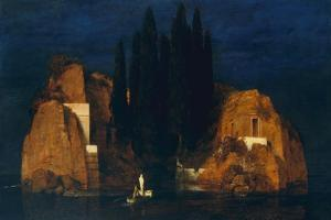 Isle of the Dead, second version, 1880 by Arnold Bocklin