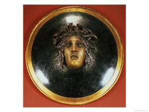 Medusa Shield by Arnold Bocklin