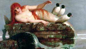 Meerestille, 1886-87 by Arnold Bocklin