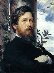 Self Portrait, 1873 by Arnold Bocklin