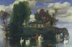 The Island of Life by Arnold Bocklin