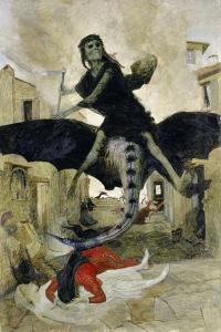 The Plague, 1898 by Arnold Bocklin