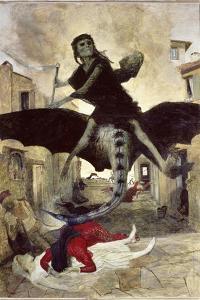 The Plague by Arnold Bocklin