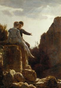 The Wedding Journey, about 1876 by Arnold Bocklin