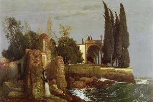 Villa by the Sea, 1878 by Arnold Bocklin