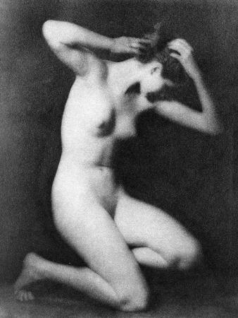 Nude Posing, C1910