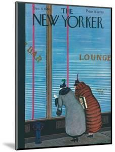 The New Yorker Cover - December 5, 1936 by Arnold Hall