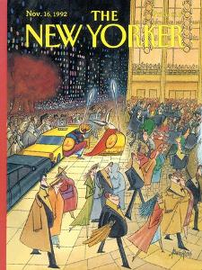 The New Yorker Cover - November 16, 1992 by Arnold Roth