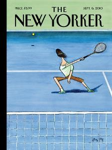The New Yorker Cover - September 6, 2010 by Arnold Roth