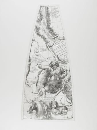 Modèle du globe céleste pour l'année 1700 par C. Coronelli : les Gémeaux
