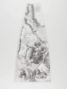 Modèle du globe céleste pour l'année 1700 par C. Coronelli : les Gémeaux by Arnould de Vuez