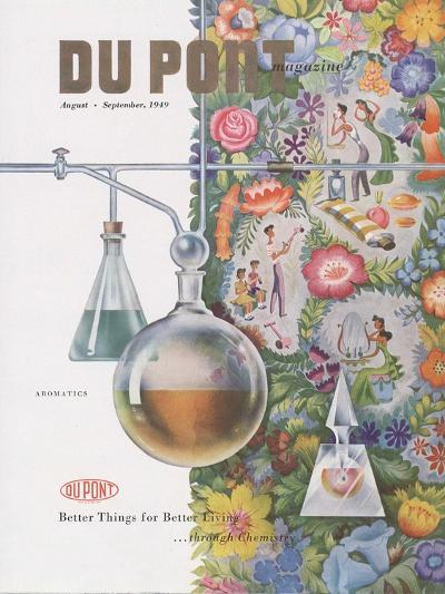 Aromatics, Front Cover of 'The Du Pont Magazine', August-September 1949--Giclee Print