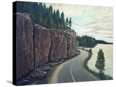Around the Bend-Henry Lobo-Stretched Canvas Print